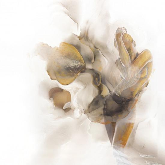 Холст Песня поющего цветка 100*100см 54STR-AQUARELLE6  в интернет-магазине ROSESTAR фото