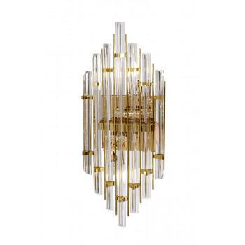Стеклянное бра золото 62GDM-925