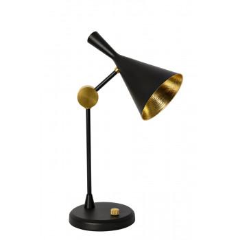 Черная настольная лампа 60GD-2711T-BL