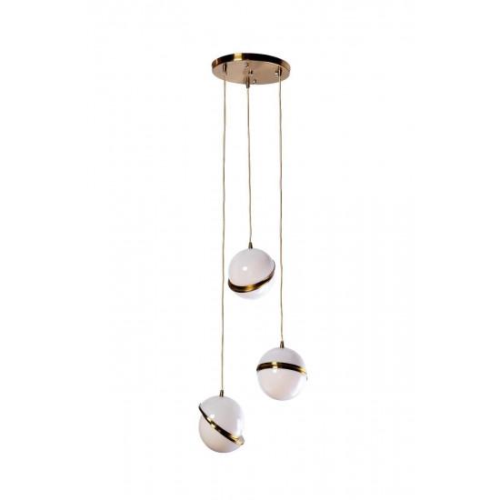 Лампа потолочная d20см*3шт 60GD-9182 S/3XS  в интернет-магазине ROSESTAR фото