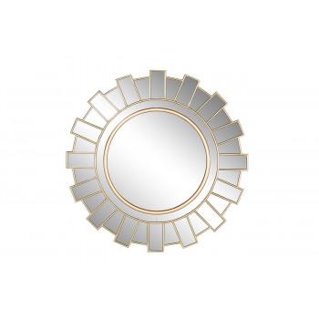 Круглое декоративное зеркало в зеркальной раме d100см 50SX-1831