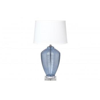 Настольная лампа с белым абажуром 22-88481