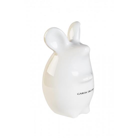Статуэтка Мышь белая 15*14*11см TB1926  в интернет-магазине ROSESTAR фото