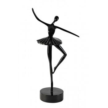 Статуэтка Балерина черная 12*10*37см TB1923BL
