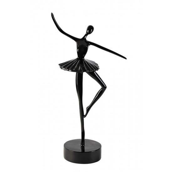 Статуэтка Балерина черная 12*10*37см TB1923BL в интернет-магазине ROSESTAR фото