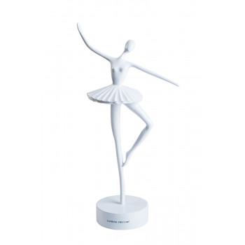 Статуэтка Балерина белая 12*10*37см TB1923WH