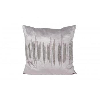 Декоративная подушка с бисером Линии 45*45см 70SW-26109