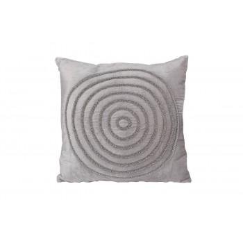 Декоративная подушка с бисером Круги 45*45см