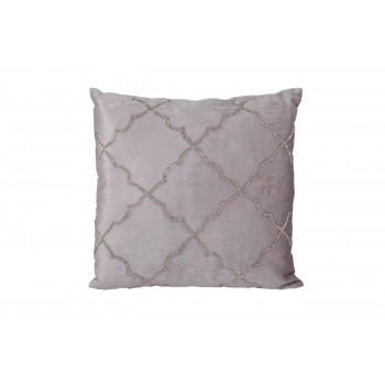 Декоративная подушка с бисером Квадро 45*45см 70SW-26060