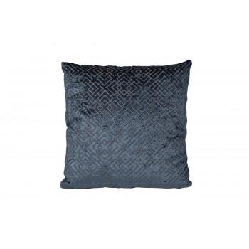 Декоративная подушка с вышивкой Геометрия синяя 45*45 70SW-17077