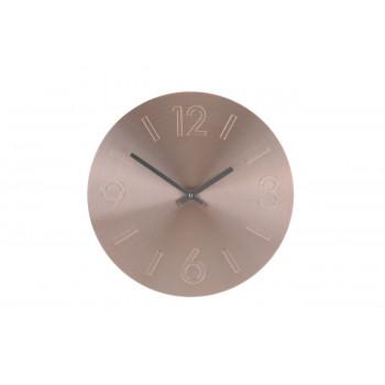 Часы настенные круглые цвет медь d35см YP7164670CP