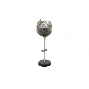 Металлический декоративный подсвечник Соты 41,7см 69-219005