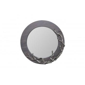 Круглое декоративное зеркало «Лес» d81cм 69-1217153