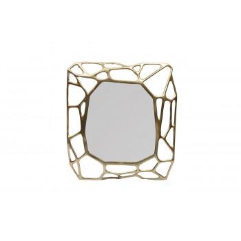 Зеркало декоративное в металлической раме «Сеть» 80*8,5*88см 69-218472