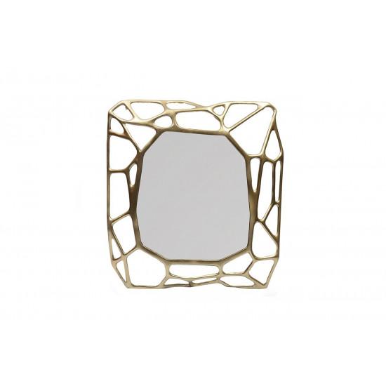 Зеркало декоративное в металлической раме «Сеть» 80*8,5*88см 69-218472 в интернет-магазине ROSESTAR фото