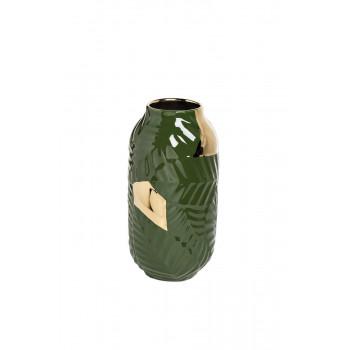 Керамическая ваза зеленая d15*28см 55RV3749S