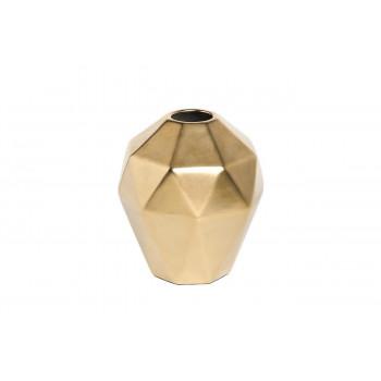 Керамическая ваза золотая d17*19см 55RD3750S