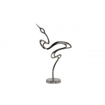 Статуэтка Цапля цвет серебро 30*13*51см 71PN-0601B