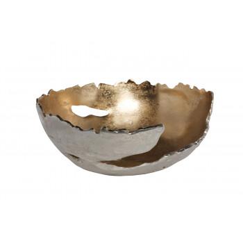 Чаша металлическая цвет золото/хром 71PN-1426