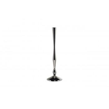 Подсвечник металлический серебряный d11*37см 71PN-1520