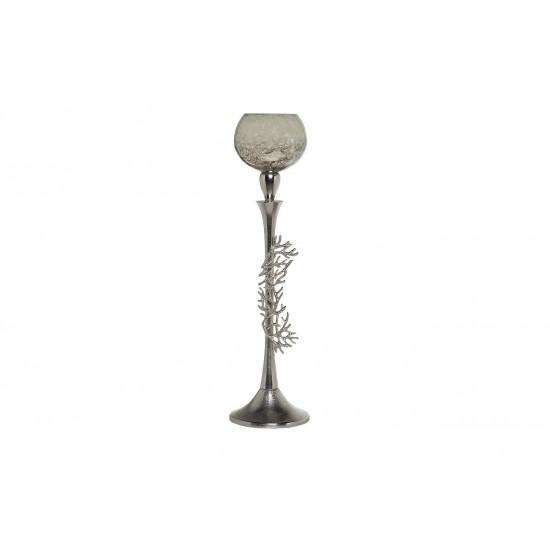 Декоративный металлический высокий подсвечник d13*50см 71PN-30560  в интернет-магазине ROSESTAR фото