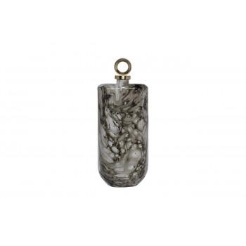 Стеклянный флакон декоративный 19*10*48см 71PN-51059