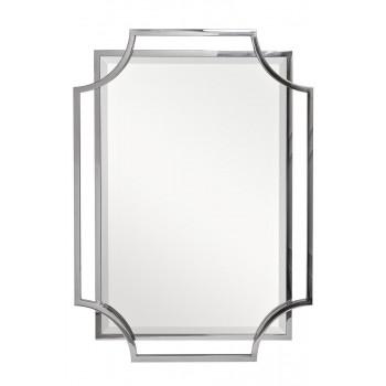 Зеркало в металлической раме цвет хром 71*102см KFE1150