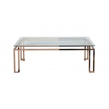 Металлический журнальный столик для гостиной 130*70*45см KFG060 Золото