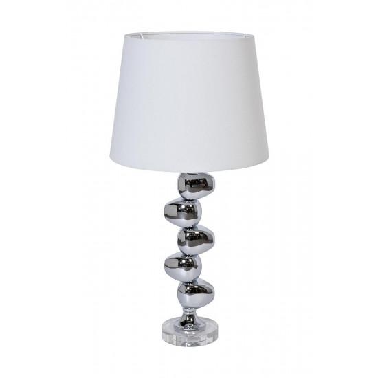 Белая настольная лампа 22-88657