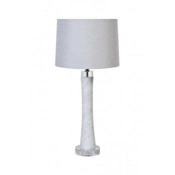 Белая настольная лампа 22-88690