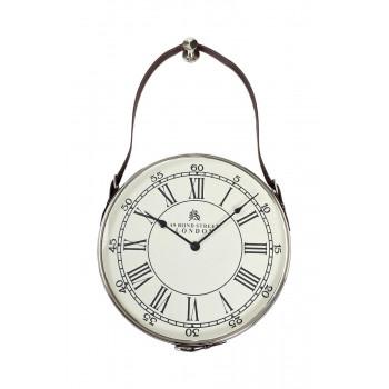 Часы настенные на подвесе цвет хром d41см 79MAL-5673-70NI
