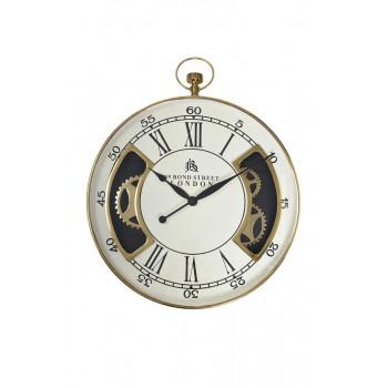 Часы настенные цвет белый/золото d76см 79MAL-5316-76G