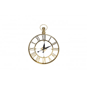 Часы настенные круглые (золото) 79MAL-5728-68G