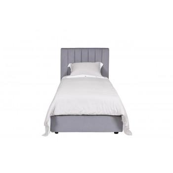 Кровать односпальная велюровая 90см без подъемного механизма Andrea