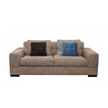 Комплект мебели №1: Модульный диван трёхместный раскладной с двумя подлокотниками LAZIO