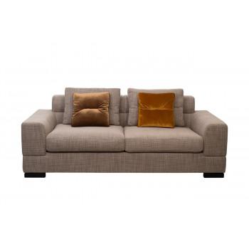 Комплект мебели №7: Модульный диван трёхместный раскладной с двумя подлокотниками LAZIO