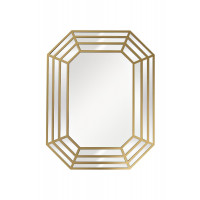 Зеркало декоративное в золотой зеркальной раме 70*90*1,5см арт. 50SX-9171