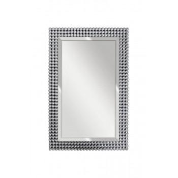 Зеркало прямоугольное в раме с кристаллами 65*100*2см 50SX-19003