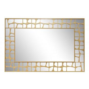 Зеркало в золотой раме 74*110*2,4см 50SX-19007