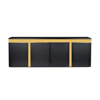 Дизайнерский широкий комод с дверцами Marbella 240*45*87см 58DB-CH18166