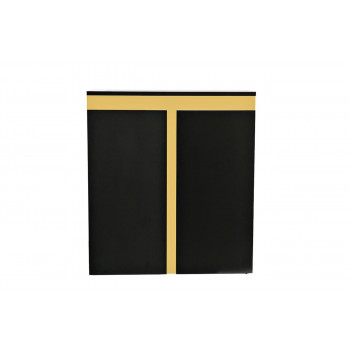 Высокий комод с дверцами Marbella 120*45*135,5см 58DB-CHH18166