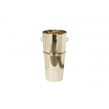 Кашпо высокое напольное цвет золото d.35*70см 13RXFP3117-GOLD