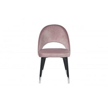 Стул велюр пепельно-розовый 51*56*84см 30C-1228F LPI