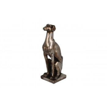 Статуэтка Собака цвет бронза 8*10*25см CAT302910