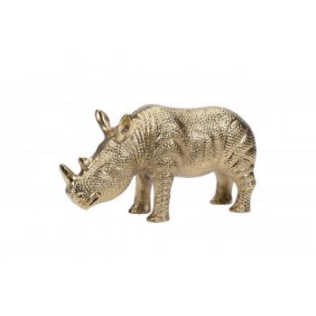 Статуэтка Носорог цвет золото 23*7,2*12,5см A98000510