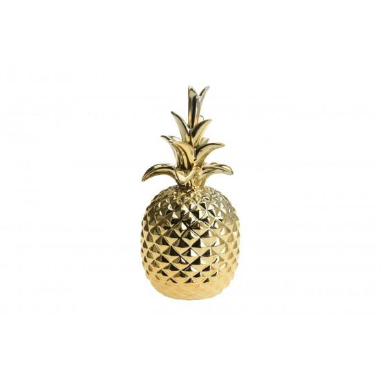 Статуэтка Ананас цвет золото d12,2*25см  в интернет-магазине ROSESTAR фото