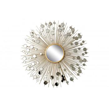 Зеркало солнце диаметр 80, центральный диаметр 20 19-OA-5702/1