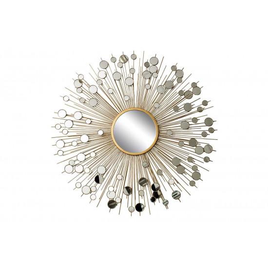 Зеркало солнце диаметр 80, центральный диаметр 20 19-OA-5702/1  в интернет-магазине ROSESTAR фото