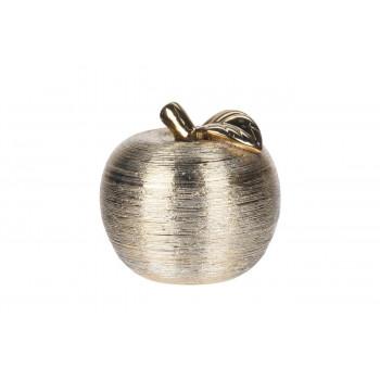Статуэтка Яблоко 12,5*12,5*12,5см цвет золото HZ1950000