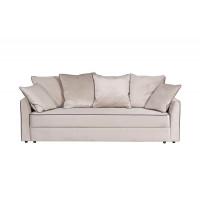 Велюровый трёхместный раскладной диван Mores(K) Бежевый 226*103*94 Bel09